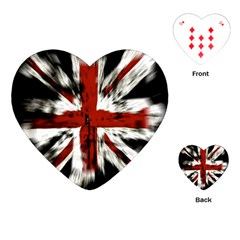 British Flag Playing Cards (Heart)