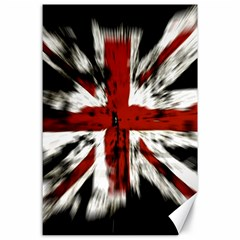 British Flag Canvas 24  x 36