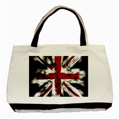 British Flag Basic Tote Bag (Two Sides)