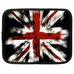British Flag Netbook Case (XL)
