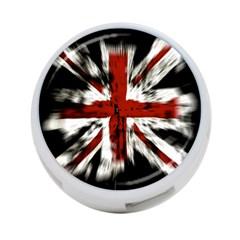 British Flag 4-Port USB Hub (Two Sides)