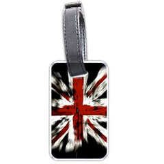 British Flag Luggage Tags (One Side)