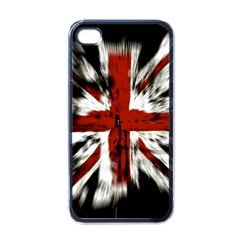 British Flag Apple iPhone 4 Case (Black)