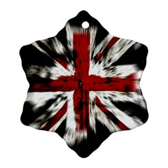 British Flag Ornament (Snowflake)