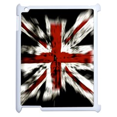 British Flag Apple iPad 2 Case (White)
