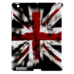 British Flag Apple iPad 3/4 Hardshell Case (Compatible with Smart Cover)
