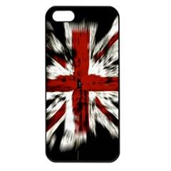 British Flag Apple Iphone 5 Seamless Case (black)