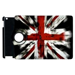 British Flag Apple Ipad 2 Flip 360 Case