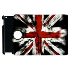 British Flag Apple iPad 3/4 Flip 360 Case