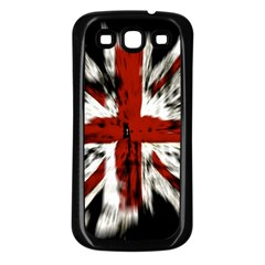 British Flag Samsung Galaxy S3 Back Case (black)
