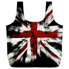 British Flag Full Print Recycle Bags (l)
