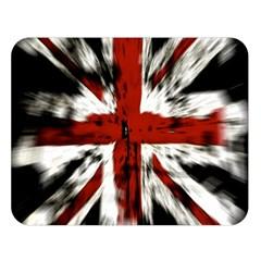 British Flag Double Sided Flano Blanket (large)