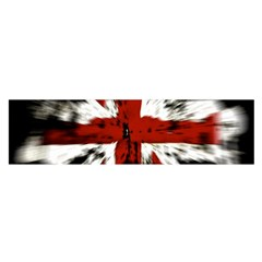 British Flag Satin Scarf (Oblong)
