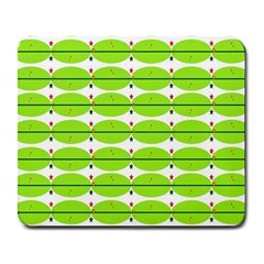 Abstract Pattern Background Wallpaper In Multicoloured Shapes And Stars Large Mousepads