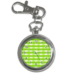 Abstract Pattern Background Wallpaper In Multicoloured Shapes And Stars Key Chain Watches