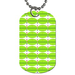 Abstract Pattern Background Wallpaper In Multicoloured Shapes And Stars Dog Tag (One Side)