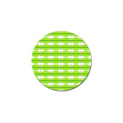 Abstract Pattern Background Wallpaper In Multicoloured Shapes And Stars Golf Ball Marker