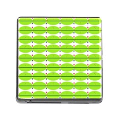 Abstract Pattern Background Wallpaper In Multicoloured Shapes And Stars Memory Card Reader (Square)