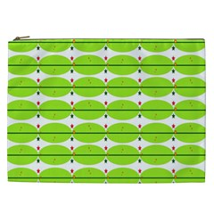 Abstract Pattern Background Wallpaper In Multicoloured Shapes And Stars Cosmetic Bag (xxl)
