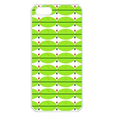Abstract Pattern Background Wallpaper In Multicoloured Shapes And Stars Apple Iphone 5 Seamless Case (white)