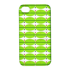 Abstract Pattern Background Wallpaper In Multicoloured Shapes And Stars Apple iPhone 4/4S Hardshell Case with Stand