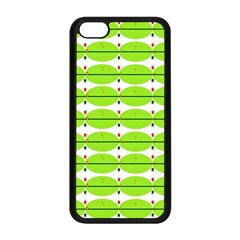Abstract Pattern Background Wallpaper In Multicoloured Shapes And Stars Apple Iphone 5c Seamless Case (black)