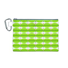Abstract Pattern Background Wallpaper In Multicoloured Shapes And Stars Canvas Cosmetic Bag (m)