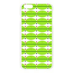 Abstract Pattern Background Wallpaper In Multicoloured Shapes And Stars Apple Seamless iPhone 6 Plus/6S Plus Case (Transparent)