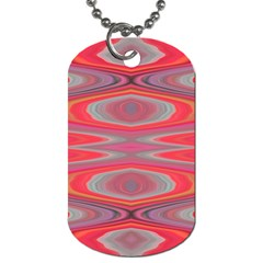 Hard Boiled Candy Abstract Dog Tag (One Side)