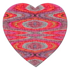 Hard Boiled Candy Abstract Jigsaw Puzzle (Heart)