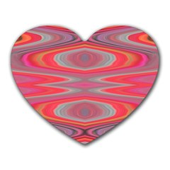 Hard Boiled Candy Abstract Heart Mousepads