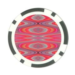 Hard Boiled Candy Abstract Poker Chip Card Guard