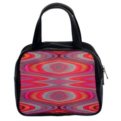 Hard Boiled Candy Abstract Classic Handbags (2 Sides)