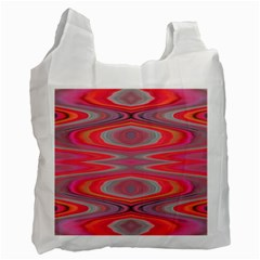 Hard Boiled Candy Abstract Recycle Bag (Two Side)