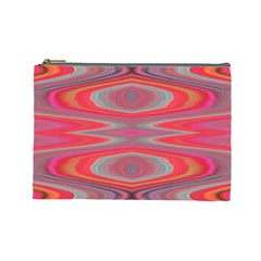 Hard Boiled Candy Abstract Cosmetic Bag (large)