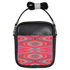 Hard Boiled Candy Abstract Girls Sling Bags