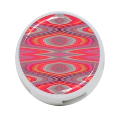 Hard Boiled Candy Abstract 4 Port Usb Hub (two Sides)