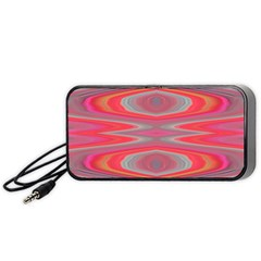 Hard Boiled Candy Abstract Portable Speaker (Black)
