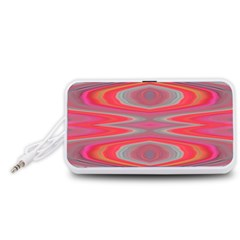 Hard Boiled Candy Abstract Portable Speaker (White)