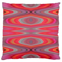 Hard Boiled Candy Abstract Large Cushion Case (two Sides)