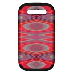 Hard Boiled Candy Abstract Samsung Galaxy S III Hardshell Case (PC+Silicone)