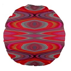 Hard Boiled Candy Abstract Large 18  Premium Round Cushions
