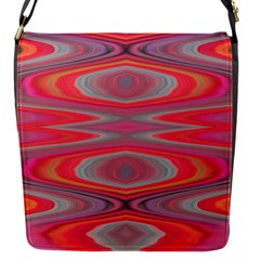 Hard Boiled Candy Abstract Flap Messenger Bag (S)