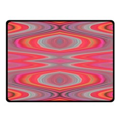 Hard Boiled Candy Abstract Double Sided Fleece Blanket (small)