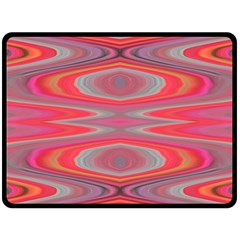 Hard Boiled Candy Abstract Double Sided Fleece Blanket (Large)