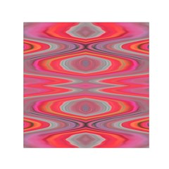 Hard Boiled Candy Abstract Small Satin Scarf (square)