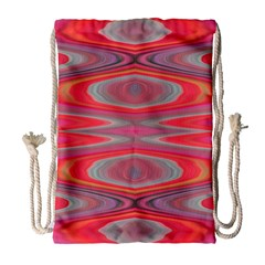 Hard Boiled Candy Abstract Drawstring Bag (large)