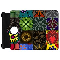 Digitally Created Abstract Patchwork Collage Pattern Kindle Fire Hd 7