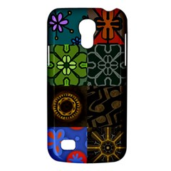 Digitally Created Abstract Patchwork Collage Pattern Galaxy S4 Mini
