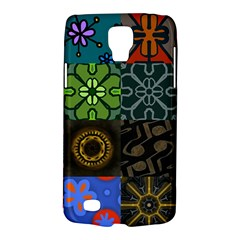 Digitally Created Abstract Patchwork Collage Pattern Galaxy S4 Active